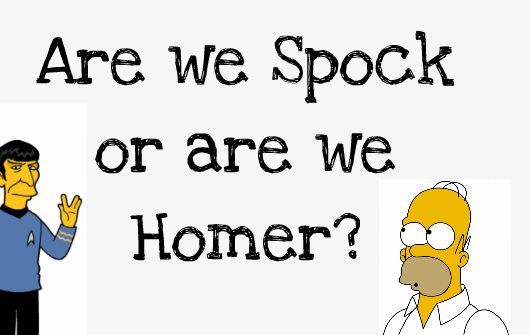 Rationality: Are we Homer or are we Spock?